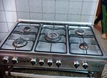 طباخ 5 عيون مع فرن للشوي ماركة ايطالية نوع رمبو