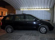Kia Carnival car is available for sale, the car is in  condition