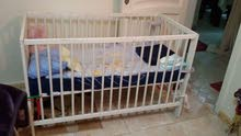 سرير أطفال خشب من ايكيا