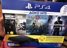 PS4 500GB with extra console