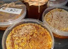 عسل طبيعي%100بدون شكر فحص مختبركيلو30000