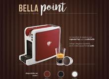 ماكينات قهوة منزلية و مكتبية من شركة اللولو الايطالية (كبسولات + شالدات)