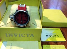 للبيع ساعة invicta red russian diver