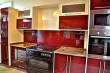 أقسااااط مطبخ 3×4 ب 550 دينار المنيوم خشابي شامل شفاط مجلى خلاط