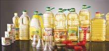 بلاستيك عبوات تعبئه للمنتجات الغذائيه واخري