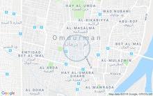 امدرمان الثورة الحارة 70 ناصية في ميدان مساحة 300م
