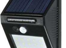 مصباح حائط بالطاقة الشمسية