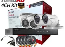 كاميرات مراقبة (HIK VISION) بسعر مميز