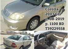 for sale Toyota cor 2003