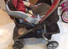 Graco Ultima Baby Stroller with Car Seat in Brown Color