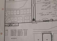 فرصة للبيع ارض في مدينة النهضة 6/1