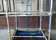 سقالة كاب لوك جديد (بداً من ـ 13 دولار للمتر المربع) /Cuplock Scaffolding New 13$ per m²