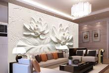 ورق جدران ثلاثي الابعادwallpaper3D