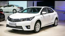 Renting Toyota cars, Corolla 2018 for rent in Farwaniya city