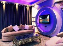 شقة مفروشة مستوي فندقي 7 نجوم في الشيخ زايد للايجار اليومي