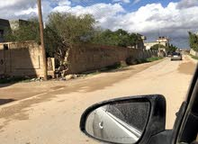 قطعه ارض 500 متر على شارعين في السيده عائشه ارض الطلحي