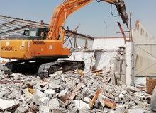 مقاول هدم وتكسير المنازل القديمة وجميع أعمال التكسير