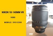 Nikon 18-140mm vr
