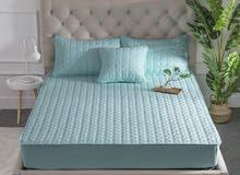 غلاف سرير مانع لتسرب الماء +2 اغلفة وسائد