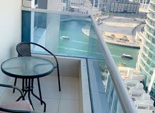 Full furnished apartment/marina view / all bills included/no commission