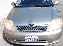 للبيع تويوتا كورولا 2002