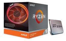 AMD Ryzen 9 3900X معالج 052,4.1,9.7,7.1,7 هذا رقم التواصل فقط بحاله جديده مع كرتونه بالكامل