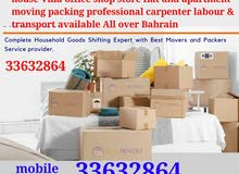 All over Bahrain professional movers Packers
