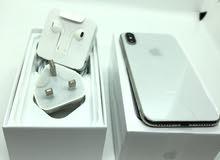 iPhone X 64 GB White Like new Full box1150