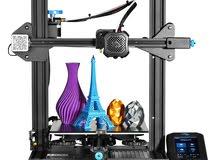 The new 3D printer طابعة ثلاثية الأبعاد (Ender 3 V2)
