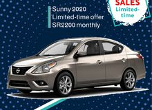 Nissan Sunny 2020 for rent (Limited-offer)
