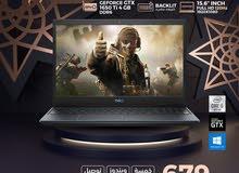 لابتوب جيمنج ديل LAPTIO DELL G3 GAMING I5 10TH GTX 1650TI 4GB 120HZ