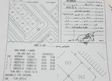 للبيع ارض امتداد عوقد ادهان مربع د سكني تجاري رقم القطعة 262 مساحة 400 م الارض ر