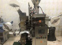 ماكينة تعبئه وتغليف  شاي  سكر  كرك