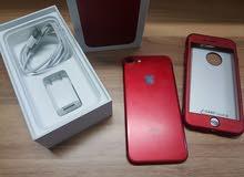ايفون 7 احمر 128 كيكا