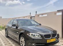 BMW 520 خليجية بلون مميز