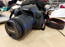 canon eos 750D - 1 month use with 2 years warranty from xcite