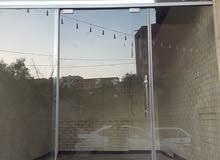 باب زجاج سحاب 3*3 متر بسعر عرررررطة