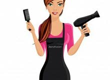 Required  coiffeur for a ladies saloon
