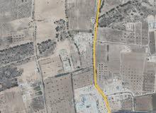 قطعة ارض في الذافنية للبيع مساحة 3000 متر