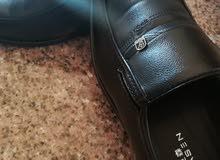 حذاء رسمي جلد صناعي نخب اول  جديد غير مستعمل