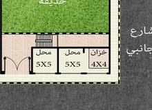 3 محلات على ارض ناصية 415 م مكان مميز ببرج العرب للبيع