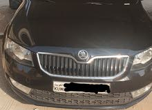 Automatic Black Skoda 2016 for sale