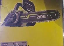 منشار حطب وشجر كهرباء ماركة Ryobi قياس 16 انش