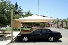 عمل مظلات لسيارات