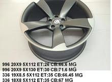21x9 5x112 matte grey rims for audi. Other sizes also in stock.