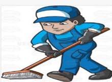 مطلوب عمال نظافة للتعيين فوراً