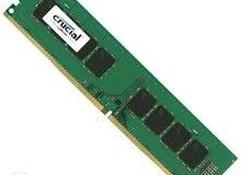 كروشال 4 دي دي ار4ذاكرة رام متوافقة مع اجهزة الكمبيوتر