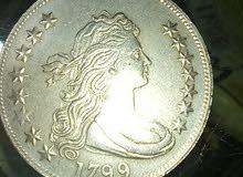 عمله امركيا 1799 بحله ممتازه للبيع