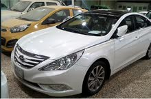 White Hyundai Sonata 2015 for sale