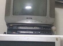 تلفزيون بانسونك + تلفزيون ونسا+جهاز فديو شرايط JVC ياباني+غلايه مياه BEC